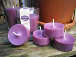 Handmade Tealights in a Clear Polycarbonate Cup